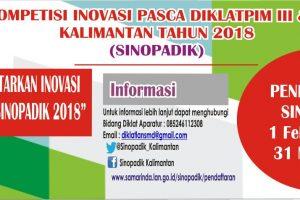 KOMPETISI INOVASI PASCA DIKLAT (SINOPADIK)