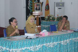 Rapat Persiapan kegiatan Pelatihan Dasar  Prajabatan CPNS Gol II Angkatan I bekerjasama dengan Kanwil Kemenkumham Provinsi Kalimantan Tengah TA 2018
