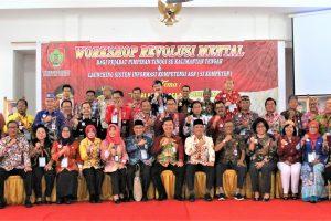 Workshop Revolusi Mental Bagi Pejabat Tinggi Se Kalimantan Tengah