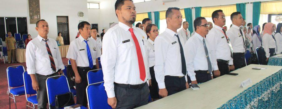Pembukaan Diklat Revolusi Mental Bagi Pejabat Eselon Iv (Pengawas) Di Lingkungan Pemerintah Provinsi Kalimantan Tengah Tahun 2019