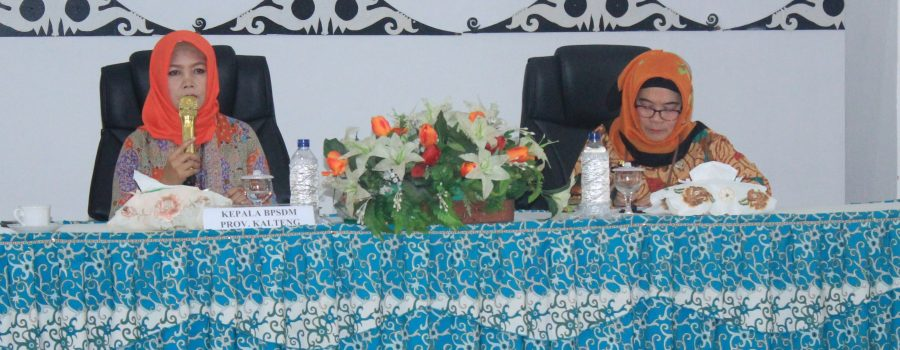 Rapat koordinasi Pelaksanaan Latsar CPNS dan Diklat Kepemimpinan Tingakt III / IV Tahun Anggaran 2019 Se Kalimantan Tengah
