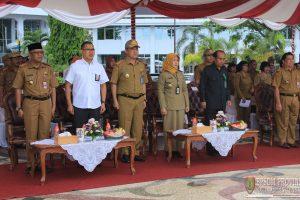 Upacara Pembukaan Latsar Cpns Golongan Iii Angkatan I Pemerintah Provinsi Kalimantan Tengah Tahun Anggaran 2019