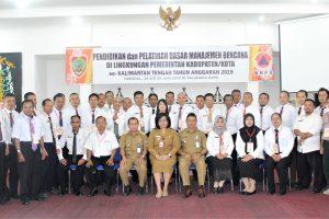 Diklat Dasar Manajemen Bencana Lingkup Kabupaten/Kota Se Kalimantan Tengah