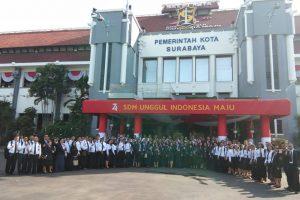 Benchmarking Diklat Kepemimpinan Tk. IV, Angkatan XXXI, XXXII, dan XXXIII ke Surabaya.