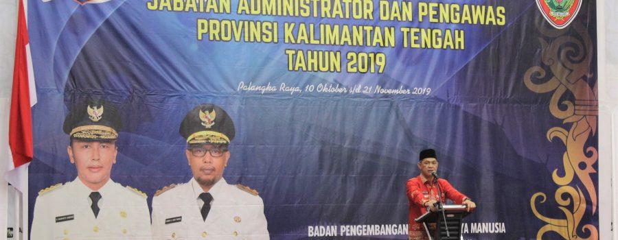 Pembukaan Pendidikan Dan Pelatihan Kepemimpinan Pemerintahan Dalam Negeri