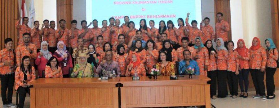 Knowledge Sharing BPSDM Prov. Kalteng ke BBPPKS Regional IV Kalimantan dan BPSDMD Prov. Kalsel di Banjarbaru