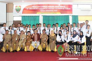 Pembukaan Diklat Penyusunan Rencana Kerja (RENJA) Di Lingkungan Pemerintahan Provinsi Kalimantan Tengah Tahun Anggaran 2020
