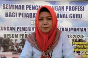 Seminar Online Pengembangan Keprofesian Berkelanjutan Bagi Guru SMA di Provinsi Kalimantan Tengah