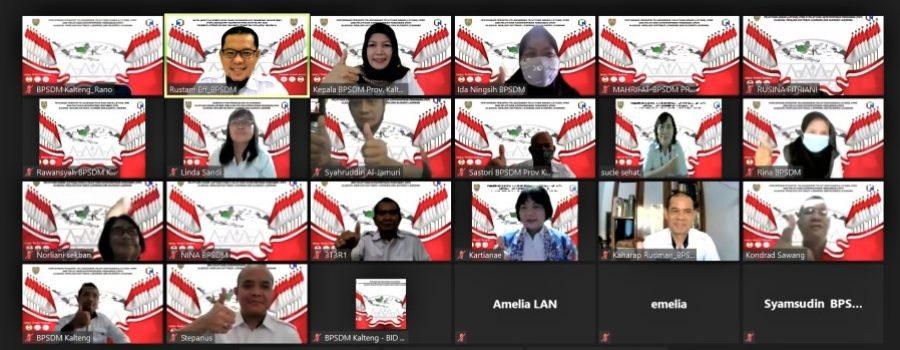 Penyamaan Persepsi Pelaksanaan Pelatihan Dasar CPNS dan Pelatihan Kepemimpinan di Kalimantan Tengah