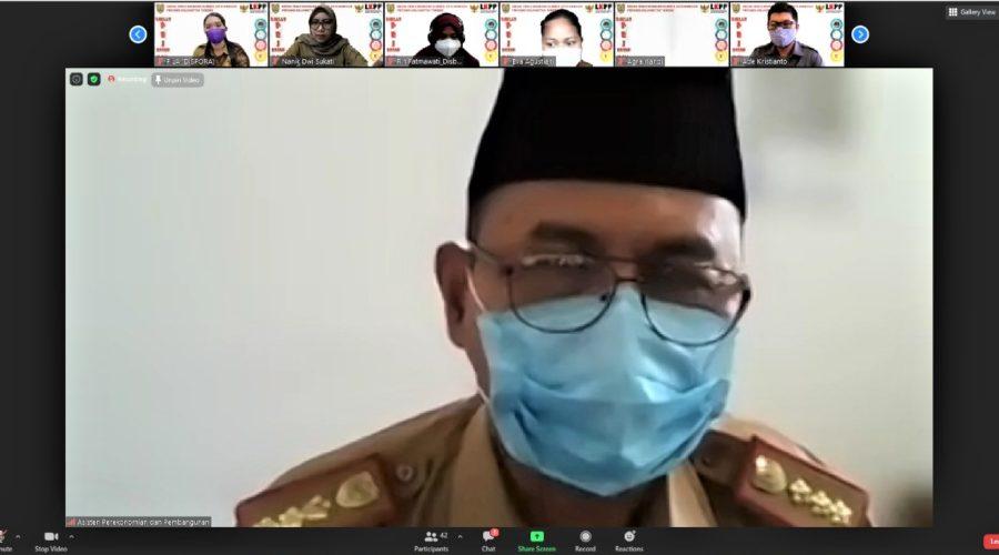 Pembukaan Diklat Pengadaan Barang dan Jasa Tingkat Dasar Dengan Metode Blended Learning Di Lingkungan Pemerintah Provinsi Kalteng