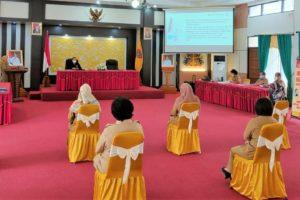 Visitasi Pemeringkatan Keterbukaan Informasi Badan Publik oleh Komisi Informasi ke BPSDM Prov. Kalteng
