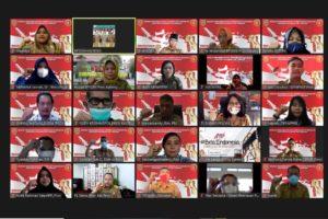 Pembukaan Diklat Bela Negara Secara E-Learning di Lingkungan Pemprov Kalteng Th. 2021